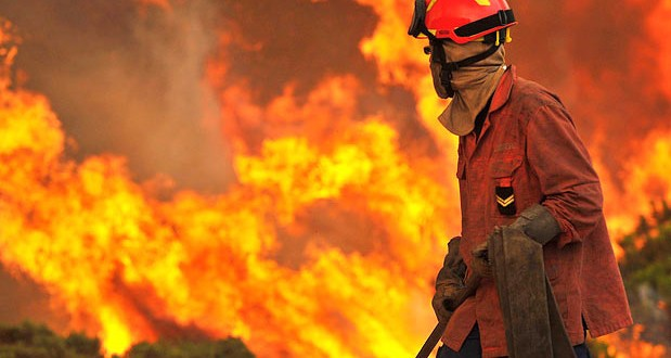 Incêndio reacende-se na Serra da Malcata, zona do Lince Ibérico