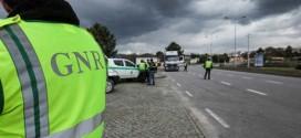 Fiscalização da GNR sobre automobilistas levou a sete detenções