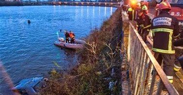 Mulher de 30 anos resgatada com vida do rio Mondego