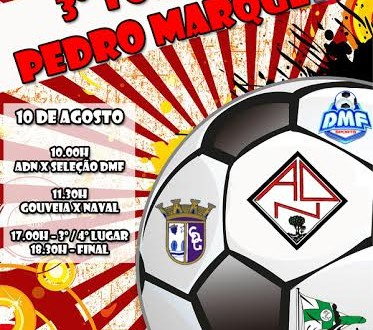 Nogeirense apresenta hoje equipa durante o III Torneio hoje Pedro Marques