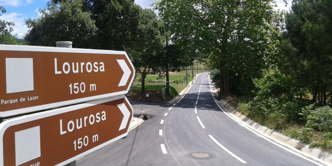 Câmara Municipal de Oliveira do Hospital inaugura nova estrada em Lourosa