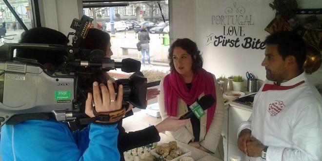 João Quaresma, o Chef oliveirense que andou pela Europa a divulgar o melhor da gastronomia portuguesa, regressou e considerou a iniciativa um êxito