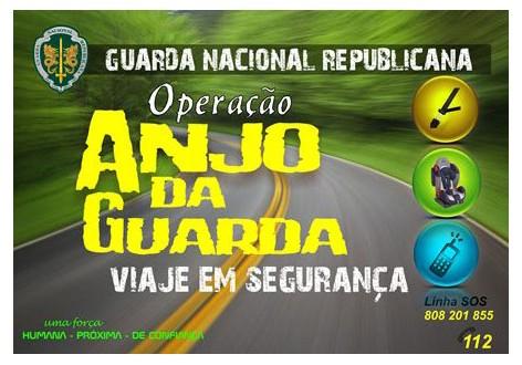 """Guarda Nacional Republicana realiza operação """"Anjo da Guarda"""""""