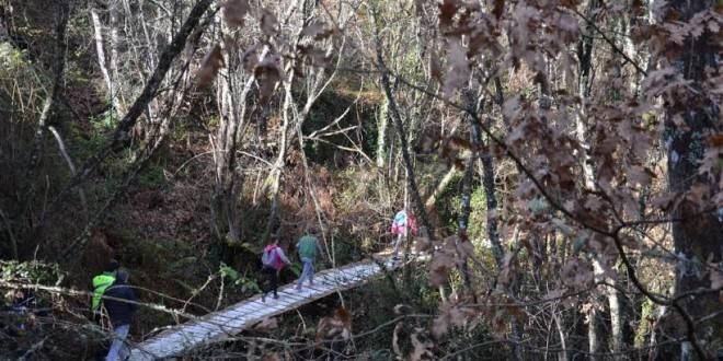Primeira Caminhada de Inverno junta mais de duas dezenas de participantes