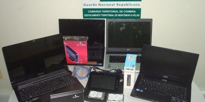 Constituído arguido suspeito de furto a loja de informática