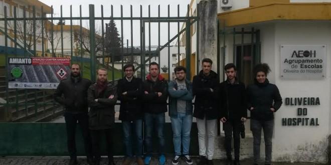 Estudantes contra amianto