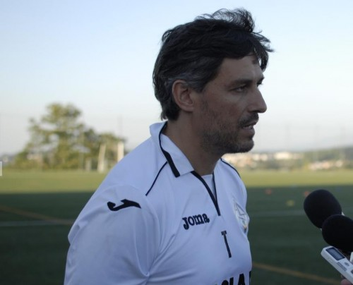 Rui Vale treinador do Nogueirense