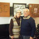 Pedro Gonçalves Pereira e Delfina Esteves Dinis em 3/dez/2016